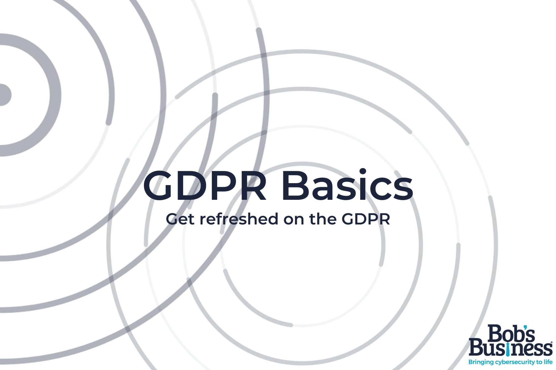 GDPR Basics
