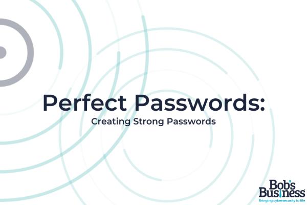 Strong password course