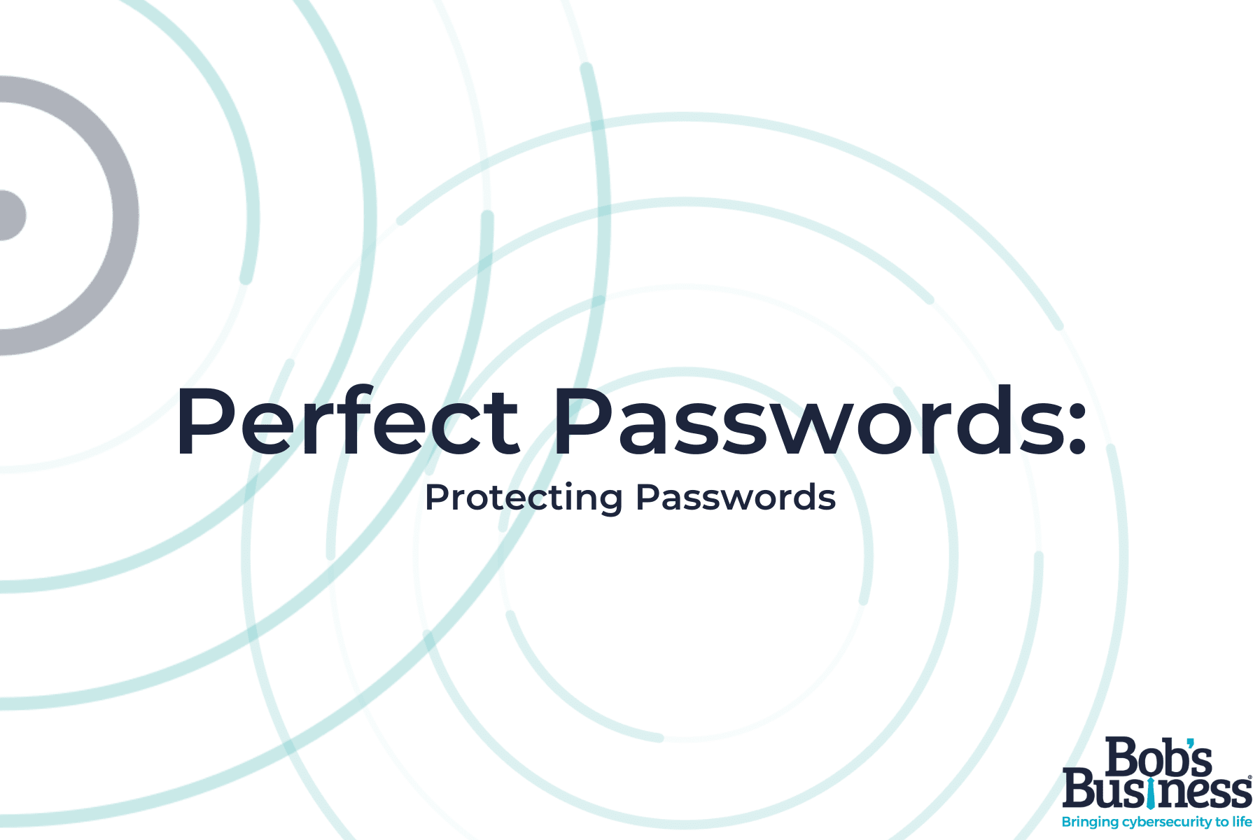 Protecting Passwords course